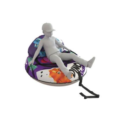 Тюбинг Small Rider Snow Tubes 4 Яйцо динозавра 110х95 см Фиолетовый - 7
