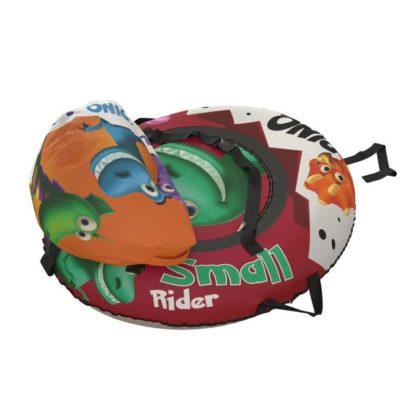 Тюбинг Small Rider Snow Tubes 4 Яйцо динозавра 110х95 см Красный - 5