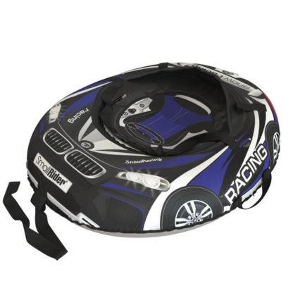 Тюбинг Small Rider Snow Tubes 4 Машинки 100х75 см BM Чёрно-синий - 1