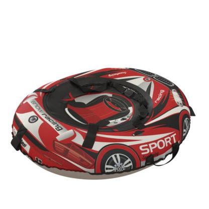 Тюбинг Small Rider Snow Tubes 4 Машинки 100х75 см BM Красный - 5