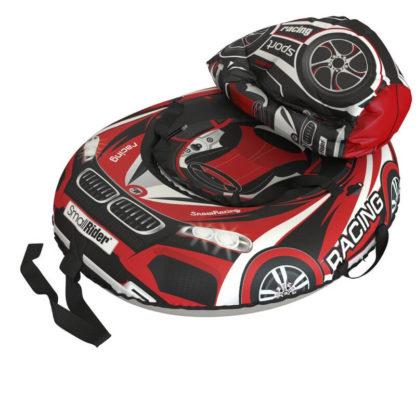 Тюбинг Small Rider Snow Tubes 4 Машинки 100х75 см BM Красный - 6