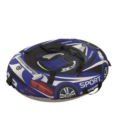 Тюбинг Small Rider Snow Tubes 4 Машинки 100х75 см BM Синий - 5
