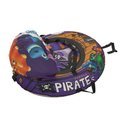 Тюбинг Small Rider Snow Tubes 4 Пираты 108х92 см Енот фиолетовый - 5