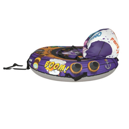 Тюбинг Small Rider Snow Tubes 4 Пираты 108х92 см Енот фиолетовый - 6