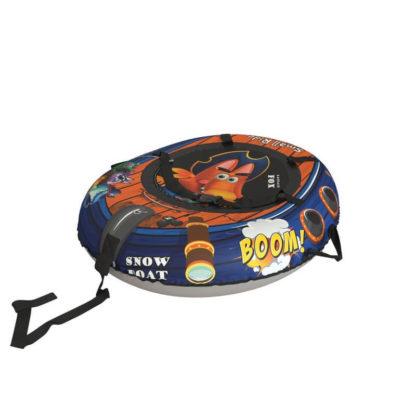 Тюбинг Small Rider Snow Tubes 4 Пираты 108х92 см Лис синий - 2