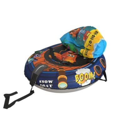 Тюбинг Small Rider Snow Tubes 4 Пираты 108х92 см Лис синий - 5