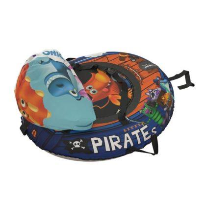 Тюбинг Small Rider Snow Tubes 4 Пираты 108х92 см Лис синий - 7