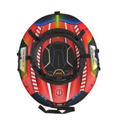 Тюбинг Small Rider Snow Tubes 4 Спасатели 100х75 см Красный пожарный - 4