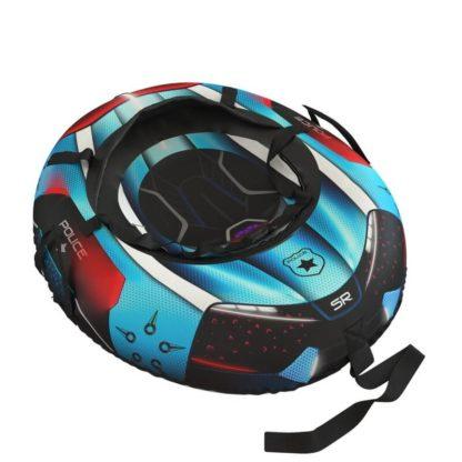 Тюбинг Small Rider Snow Tubes 4 Спасатели 100х75 см Синий полиция - 3