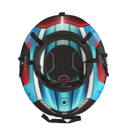 Тюбинг Small Rider Snow Tubes 4 Спасатели 100х75 см Синий полиция - 4