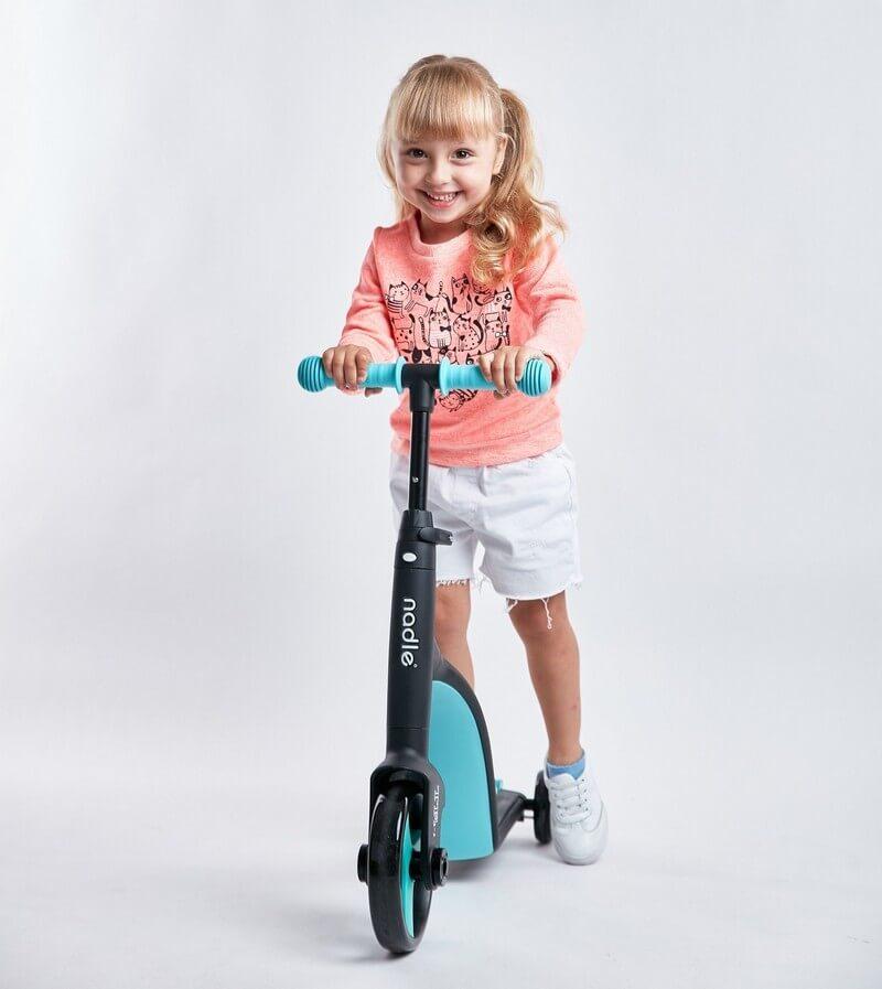Трёхколёсный самокат-беговел-велосипед Nadle 3 в 1 - 6
