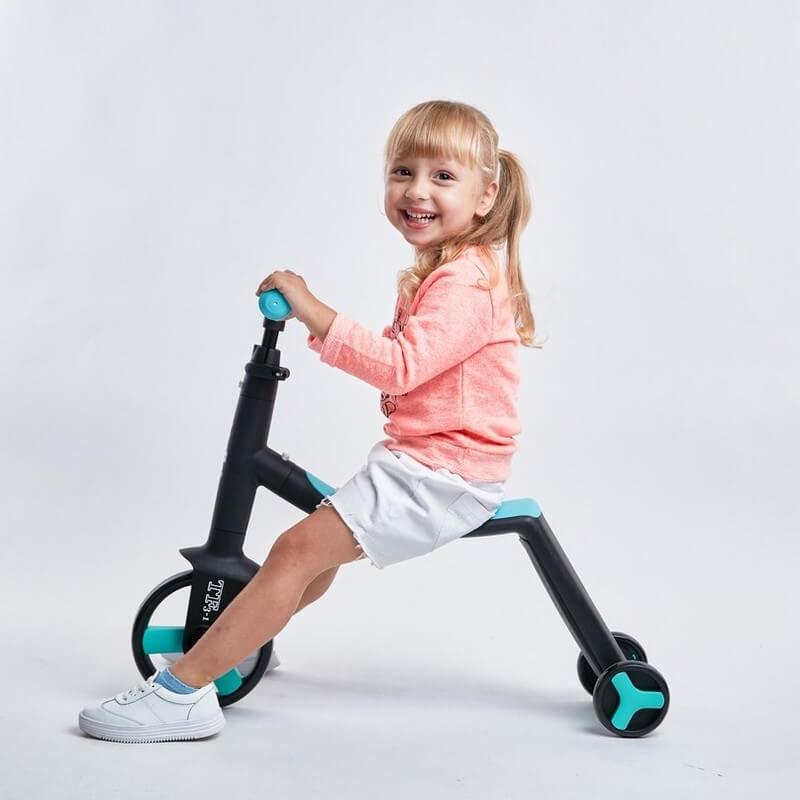 Трёхколёсный самокат-беговел-велосипед Nadle 3 в 1 - 7