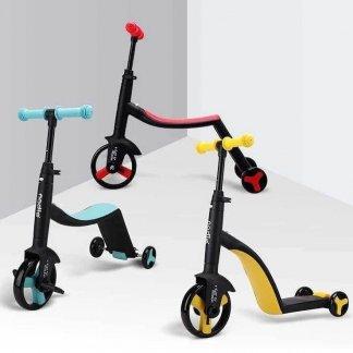 Трёхколёсный самокат-беговел-велосипед Nadle 3 в 1 - Все цвета