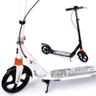 Городской самокат Urban Scooter SR2-017 Чёрный и Белый
