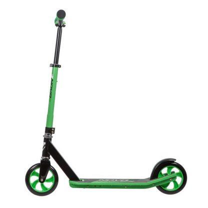 Детский двухколёсный самокат Novatrack Polis 160 Plastic NF (2020) Зелёный - 3