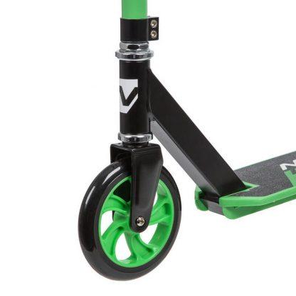 Детский двухколёсный самокат Novatrack Polis 160 Plastic NF (2020) Зелёный - 4