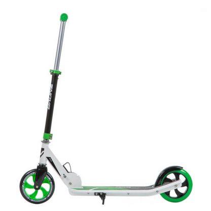 Детский двухколёсный самокат Novatrack Polis 160 Plastic Зелёный - 3