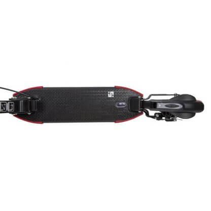 Двухколёсный самокат с ручным дисковым тормозом и 2 амортизаторами Novatrack Deft 250 Pro Disc Чёрный - 7