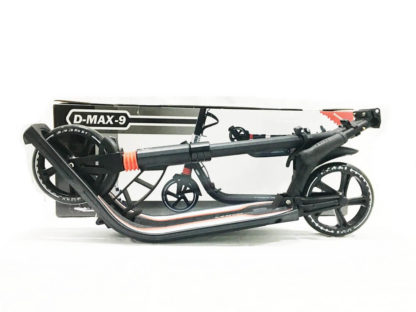 Городской самокат D-max 9 RW Sport Чёрно-красный - 14