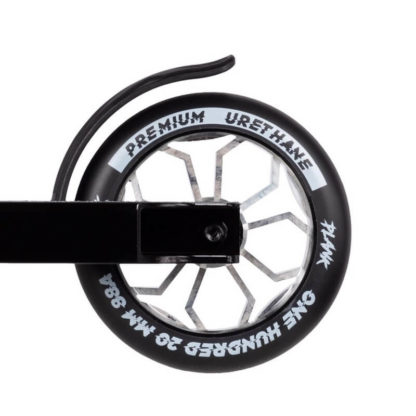 Трюковый самокат Plank Flip Black - заднее колесо
