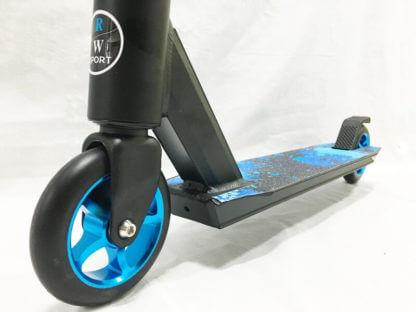 Трюковый самокат RW Sport Stunt 110 Синий - переднее колесо
