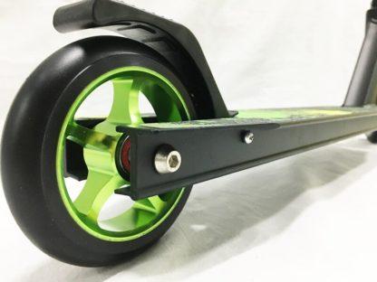 Трюковый самокат RW Sport Stunt 110 Зелёный - 1заднее колесо