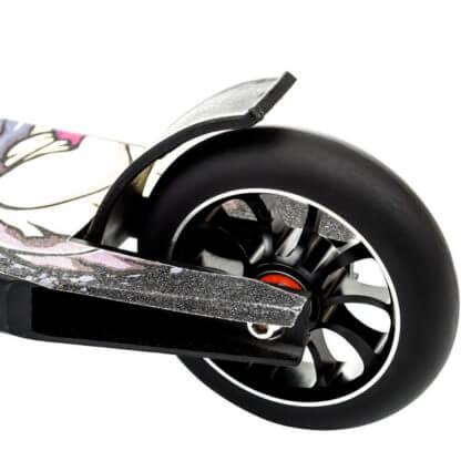 Трюковый самокат Show Yourself Print 110 Чёрный - заднее колесо