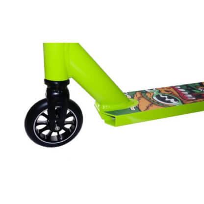 Трюковый самокат Show Yourself Print 110 Салатовый - переднее колесо