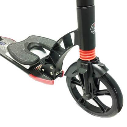 Городской самокат D-max 230 RW Sport Чёрный, с подставкой для ребёнка - 2