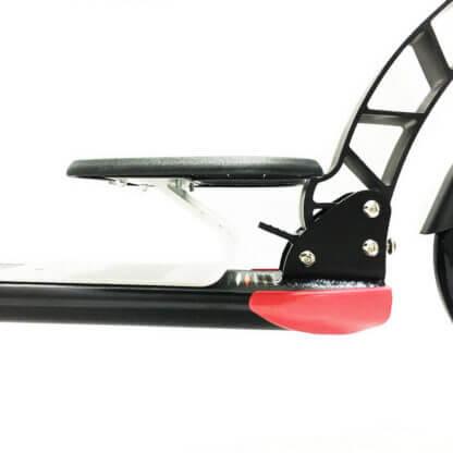 Городской самокат D-max 230 RW Sport Чёрный, с подставкой для ребёнка - 4